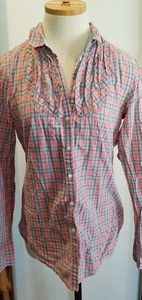 GAP Pink Plaid 10 Tall